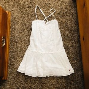 Hollister White Dress